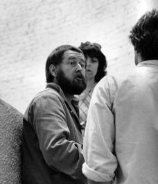 Wilfried Heidt im Gespräch auf der documenta 6